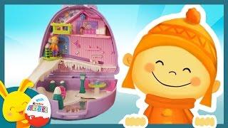 Histoire Polly Pocket: Vacances à la neige et au ski - jouet enfant - Touni Toys Titounis