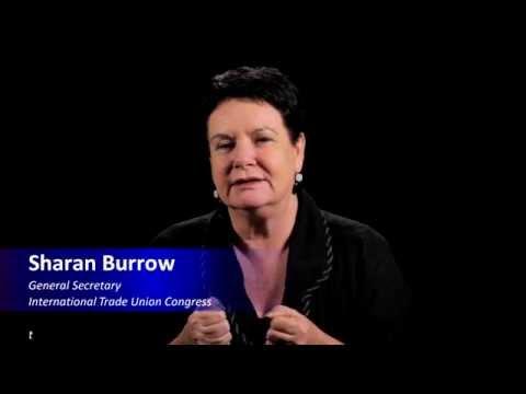 Sharan Burrow, General Secretary International Trade Union Congress