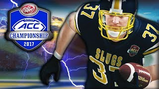 UNLIKELY HERO IN THE ACC CHAMPIONSHIP GAME! | NCAA 14 Banana Slugs Dynasty Ep. 61