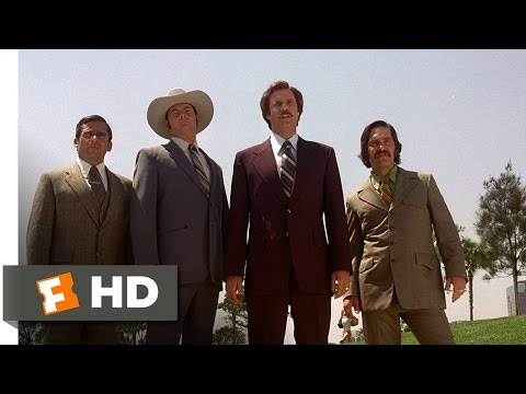 Anchorman: The Legend of Ron Burgundy - Insulting the Evening News Team Scene (1/8) | Movieclips