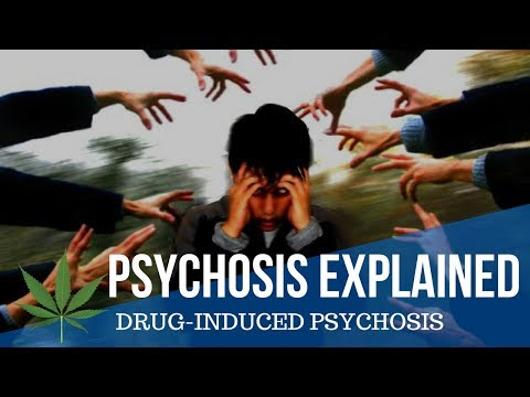 Psychosis explained simply [Introduction to Drug-Indcued Psychosis]