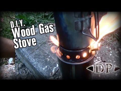 DIY Wood Gas Backpacking Stove