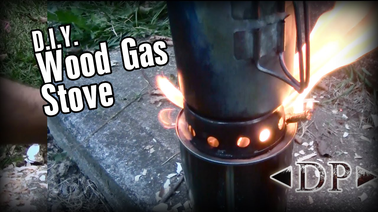 DIY Wood Gas Backpacking Stove - YouTube