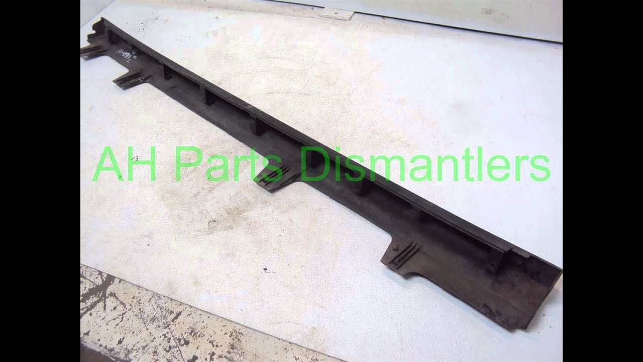 small resolution of 2001 honda accord lh side skirt rocker molding ahparts com used honda acura lexus toy oem