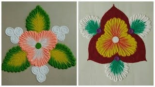 Everyday Rangoli designs  | by Aarti Shirsat  ||Top Rangolis