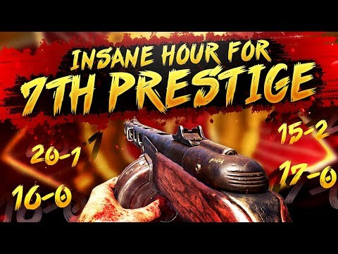 COD WW2 - INSANE Hour of SnD for 7th Prestige! (104-6 in 7 games)