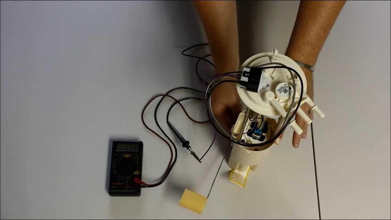 GM Fuel Pump Level Sensor Diagnosis & Testing  YouTube