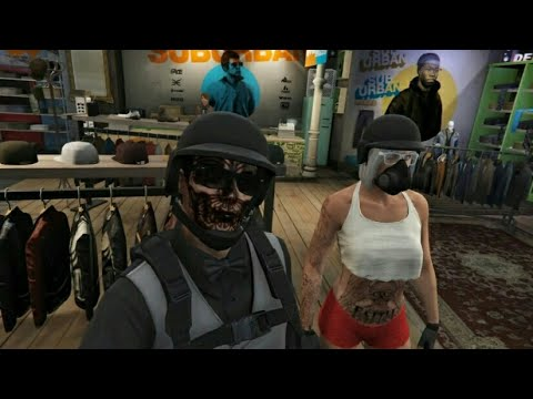 Gta 5 Female Tryhard Outfits RockStar Editor - YouTube