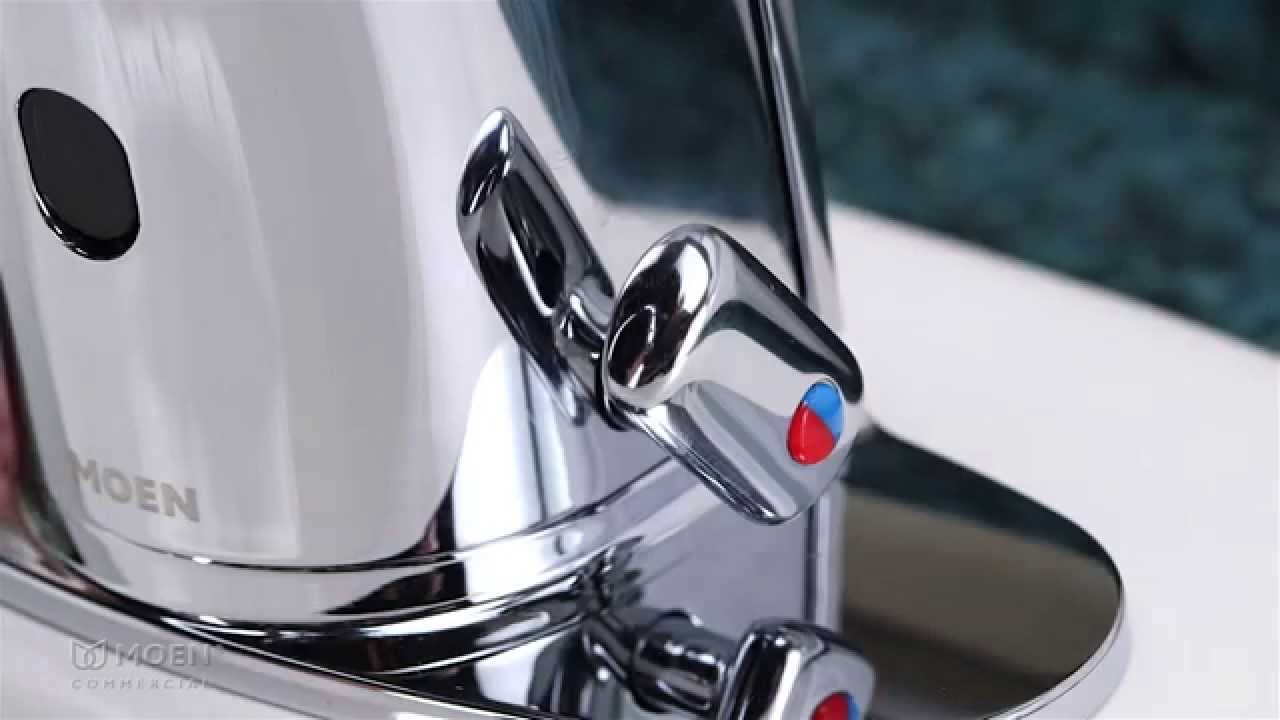 Temperature Adjustment on M-Power™ Sensor-Operated Faucets | Moen ...