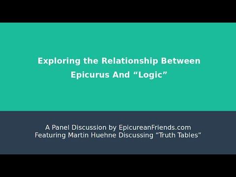 Propositional Logic - A Presentation by EpicureanFriends.com featuring Martin Huehne