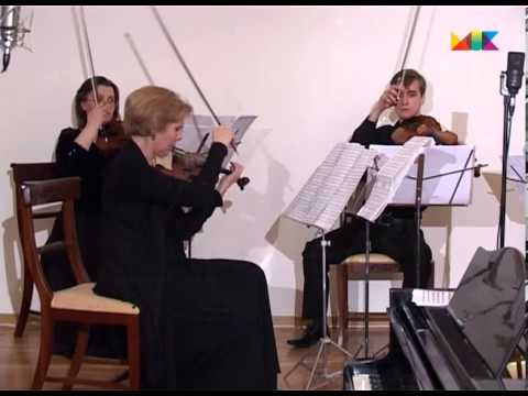 """Т.Гринденко и анс """"Opus Posth"""". В.Мартынов.""""Шуберт-квинтет""""."""