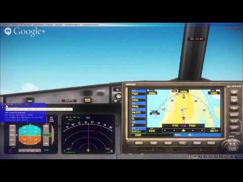 Minneapolis - Anchorage Flight Simulator X