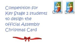 Calling Young Artists To Design Official Assembly Christmas Card
