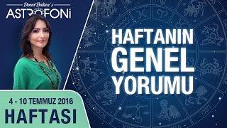 Haftalık astroloji ve burç yorumu videosu 04 - 10 Temmuz 2016