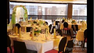 Оформление свадьбы в ресторане Esca, Москва.