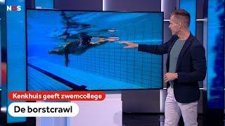 De perfecte borstcrawl   Kenkhuis geeft zwemcollege