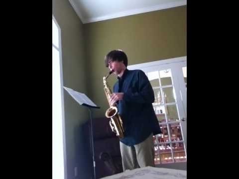 Alabama All-State Saxophone Exercise 1 2013