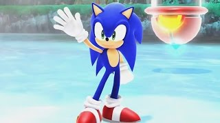 Mario and Sonic at the Sochi 2014 Olympic Winter Games - Sonic Stage Medley (Wii U)