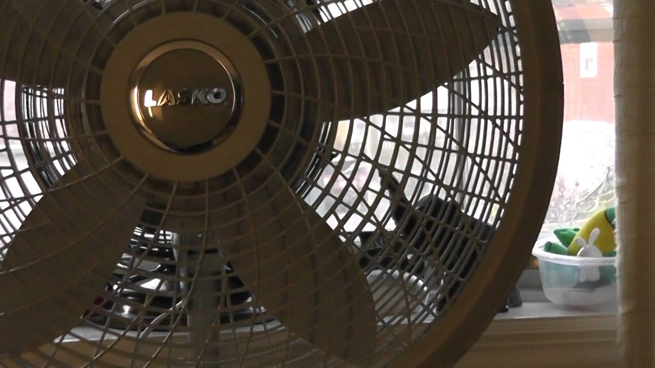 18 Quot Lasko Cyclone Oscillating Stand Fan Model S18902 Again