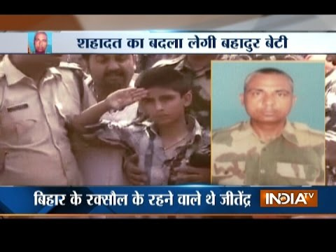 Watch: Son Pays Tribute to BSF Martyr Constable Jitendra Singh