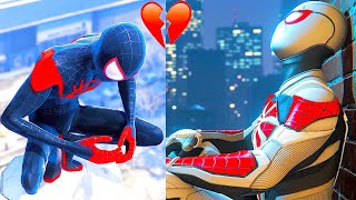 Peter Parker Losing His Loved Ones Vs Miles Losing His Loved Ones - Spider Man Miles Morales Ps5