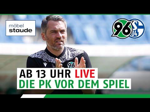 RE-LIVE: Die PK vor dem Spiel | Hannover 96 - Schalke 04