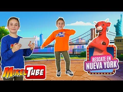 Mikel y Leo descubren las novedades de La Vaca Dance Rescate en Nueva York y juegan con DivertiGuay