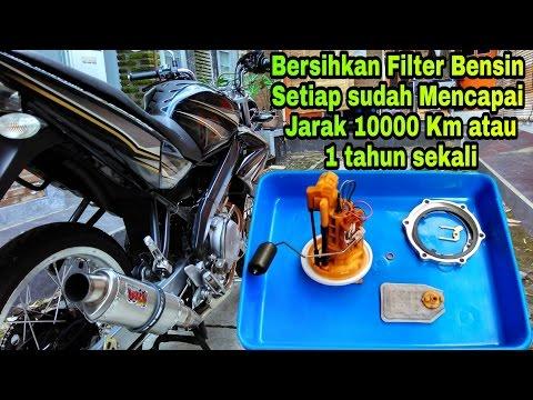 Cara Menguras Dan Membersihkan Filter Fuel Pump Old Vixion