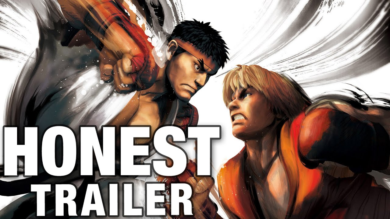STREET FIGHTER (Honest Game Trailers)