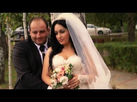 Красивая Армянская свадьба, венчание в армянской церкви. Артур и Наринэ