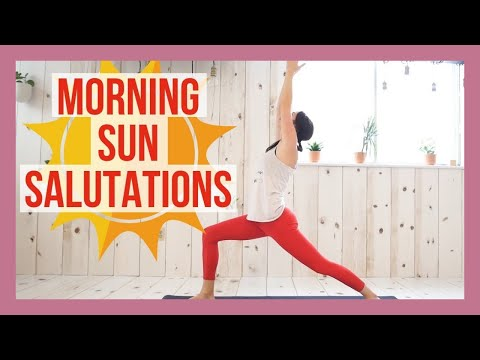 15 min Morning Sun Salutations Yoga Flow Mp3