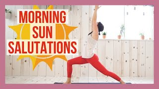 Salute the sun with this energizing 15 minute morning yoga flow! ON...
