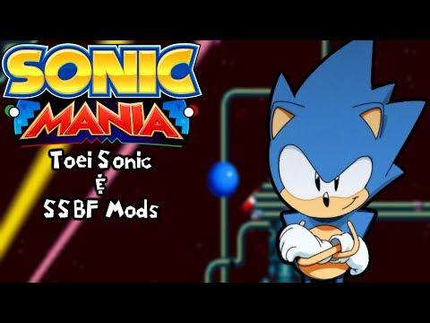 Sonic Mania Mods | Toei Sonic & Stardust Speedway Bad Future + Robotnik/Amy (1080p/60fps)