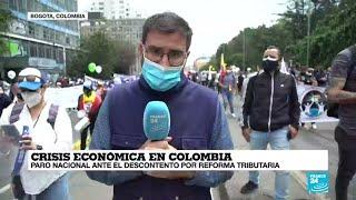 Informe desde Bogotá: A pesar de la pandemia, los colombianos acudieron al llamado del paro nacional