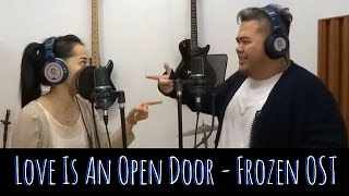 Love is an Open Door LIVE (Frozen) - Karina Salim & Indra Aziz
