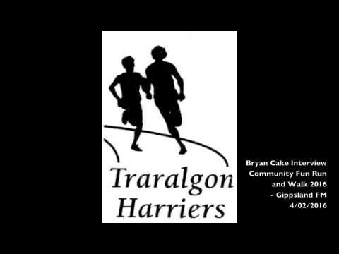Bryan Cake Community Fun Run and Walk Interview - Gippsland Today on GOLD1242 - 4/02/2016