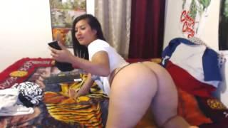 Nude Big asian ass