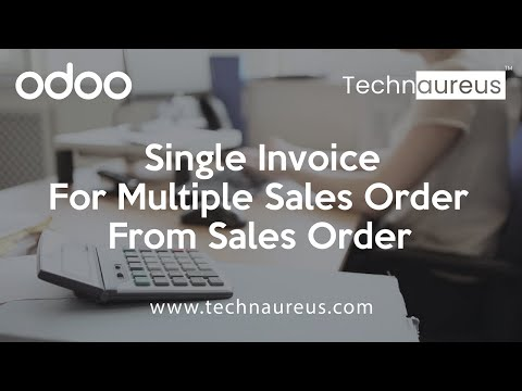 Single Invoice For Multiple Sales Order From Sales Order In Odoo