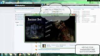 Resident Evil Remake Pc ( ESPAÑOL )  ( FUNCIONANDO ) ( Sin Emulador )