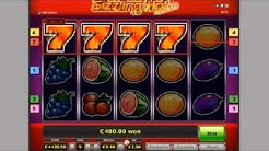 How to win in Sizzling Hot 77777 online slot?! Best example