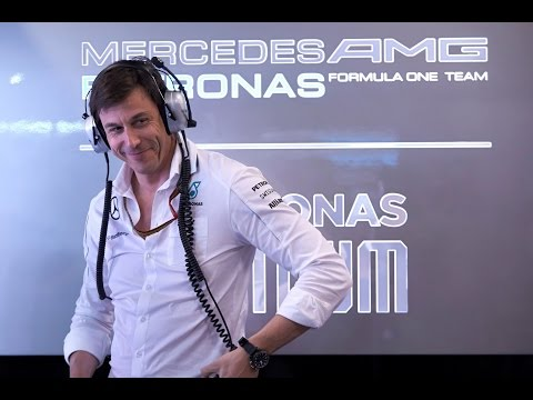 Factory Tour with Toto Wolff - MERCEDES AMG PETRONAS Road to 2015 F1