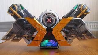 仮面ライダーWより、主人公ダブルの最終形態、CJX(サイクロン ジョー...