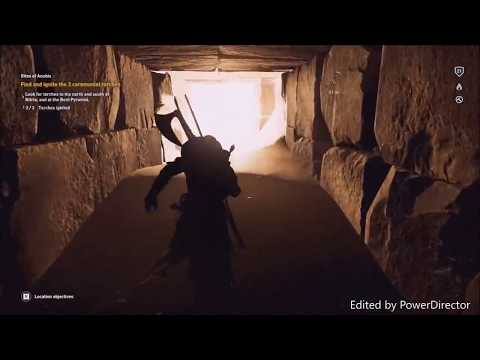 Assassins Creed Origins: How to get into The Bent Pyramid of Sneferu - Rites of Anubis