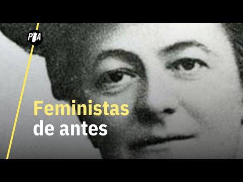 Feministas de antes, iguales a las de ahora