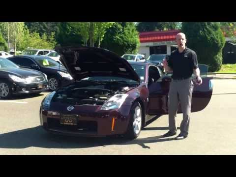 2003 Nissan 350Z review: CARFAX 101 telling body damage from frame damage