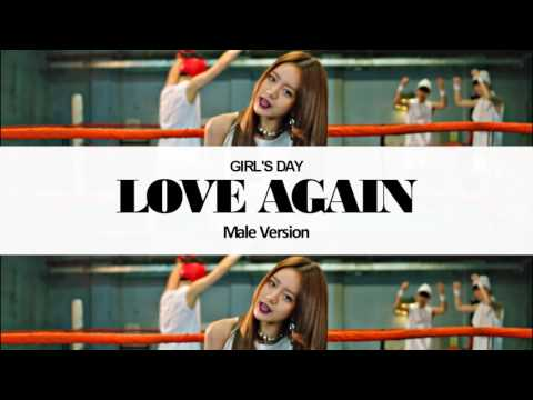 [MALE VERSION] Girl's Day - Love Again