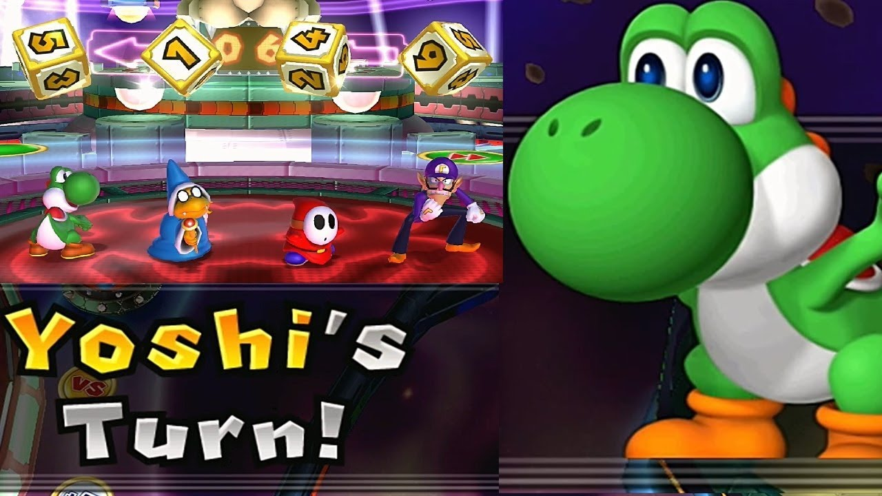 Mario Party 9 Solo Mode 187 Yoshi Bowser Station Youtube