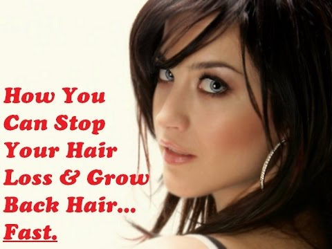 hair-care---natural-home-remedies---herbs-to-stop-hair-loss-naturally-grow-back-hair-fast