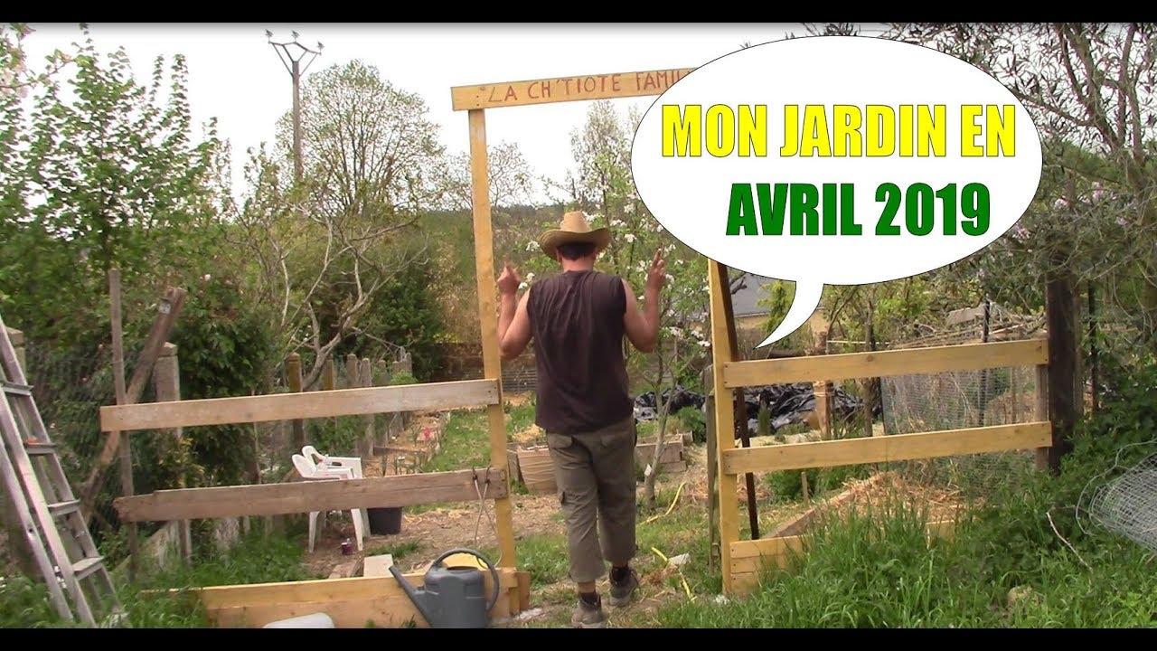 Mon Jardin En Avril mon potager en avril 2019