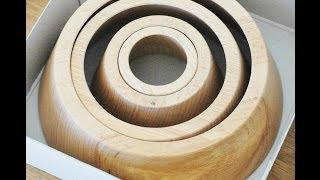 Bergeon 30045 Assortment Of 4 Wooden Clock Movement Holders